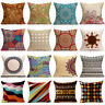 Art Cotton Linen Pillow Case Bohemia Sofa Waist Throw Cushion Cover Home Decor