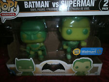 FUNKO POP BATMAN VS SUPERMAN GLOW IN THE DARK VINYL FIGURES ONLY AT WALMART