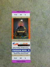 1994 FREEDOM BOWL FULL Ticket - ARIZONA & UTAH  Last Yr