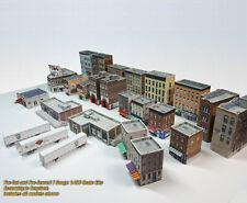 T Gauge Buildings Bulk Pack - 25 Structure (Coverstock PRE-CUT Paper Kits) UPT1