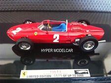 ELITE 1/43 F1 Ferrari 156 #2 Gp Italy World Champion G. Hill 1961 Art. T6278