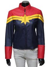 Captain Marvel Carol Danvers - Women Faux Leather Jacket | All Sizes