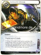 Android Netrunner LCG - 1x Satellite Uplink  #023 - Trace Amount