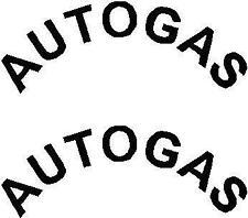2 x Autogas GPL Adesivi Auto scelta di colori differenti dimensioni