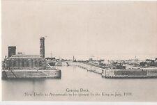 POSTCARD  BRISTOL  Avonmouth Graving Dock