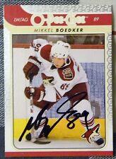 Phoenix Coyotes Mikkel Boedker Signed 08/09 O-Pee-Chee Card