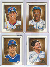 2003 DONRUSS KINGS BASEBALL ASSORTED ROOKIES and RETIRED GREATS -  8-CARDS