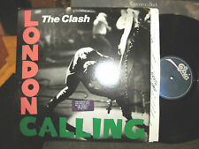 The Clash LONDON CALLING 1979 DOUBLE LP w/lyric inners e236328 epic STERLING !!