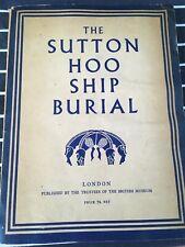 The SUTTON HOO ship burial - pb book LONDON 1959 British Museum