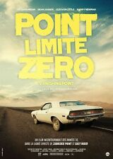 Affiche Pliée 40x60cm POINT LIMITE ZÉRO /VANISHING POINT 1971 Newman R2016 TB