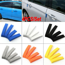 4pcs Car Door Edge Guards Trim Molding Protection Strip Scratch Protector Kit