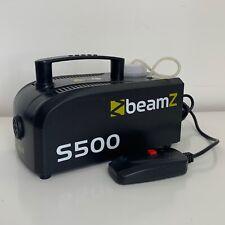 BEAMZ S500 MINI SMOKE MACHINE REMOTE CONTROLLED - TESTED WORKING