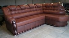 SALE !!! Corner Sofa Bed + Storage, Real Soft Leather,left or right , NEW !!