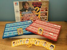 MB GAMES VINTAGE GUESS WHO 1979 - 2 PLAYERS- 7- ADULT