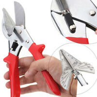 Multi Angle Scissors Trim Mitre Siding Fillet Shear Snips Trimming Cutter Tool
