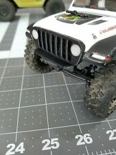 AXIAL MICRO 1/24 SCX24  JEEP JL LED HEADLIGHT GRILLE AND BUMPER RELOCATION KIT