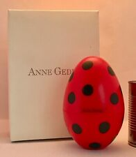ANNE GEDDES Boxed LADYBUG EGG 40466003 RARE 2004 (No Doll) IN ORIGINAL BOX 6""