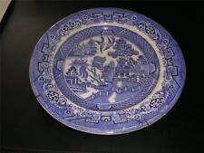 Assiette décor chinois Terre de feu N SWANSEA et LONDON 24cm