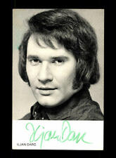 Iljan Darc EMI Autogrammkarte Original Signiert ## BC 59376