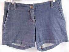 J Crew Chino Classic Twill Denim Color Shorts Women's Size 6