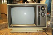 "Vintage Cream Sharp 13"" Retro CRT Tube TV Television Model 13C23A"