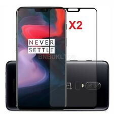 2 X for OnePlus 6 Tempered Glass Screen Protector Full Face Curved Coverage