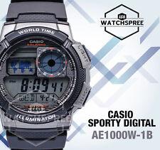 Casio Standard Digital Sporty Design Watch AE1000W-1B AU FAST & FREE