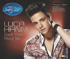 LUCA HÄNNI / DON'T THINK ABOUT ME * NEW  SINGLE-CD - DSDS 2012  * NEU *