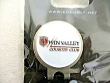 Twin Valley Country Club Ball Marker & Hat Clip <New>