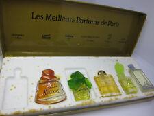 Les Meilleurs Parfums De Paris 3.2 ml & 4 ml & 3 x 5 ml EDT set 17Nov20A-T