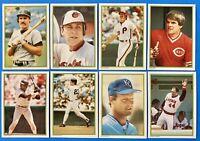(8) 1986 Topps Glossy All Stars Baseball Card Lot Cal Ripken Jr. Don Mattingly