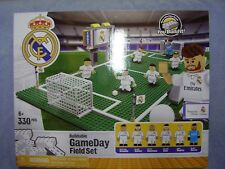 Brand New REAL MADRID SOCCER Buildable GameDay Field Day Lego Set 330 Pieces!