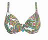Freya New Wave Underwire Plunge Bikini Swim Top AS4041 IN MULTI OR BRIEF (AA-65)