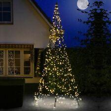 Künstlicher Weihnachtsbaum 400 cm 640 LED warmweiß LED-Baum mit Mast Fairybell