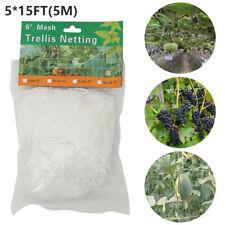 Vegetable Fruit Climbing Plant Support Mesh Garden Net Netting Pea Bean Trellis