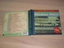 Country & Western Hit Parade 1951 CD - Hillbilly Music / Bear Family in Mint