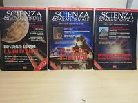 3 RIVISTE SCIENZE E PARANORMALE  ANNO 1999 CICAP  N. 26 -  N. 27 - N .28