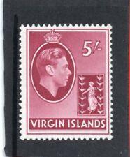 Br.Virgin Is. GV1 1938, 5s. carmine sg 119 VLH.Mint