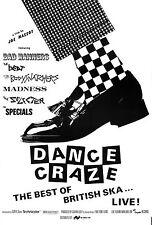"The Specials Dance Craze 16"" x 12"" Photo Repro Concert Poster"