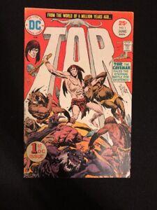 Tor #1 VF 1975 DC Comics