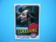 1981/82 TOPPS NHL HOCKEY CARD #19 GUY LAFLEUR NM SHARP!! 81/82 TOPPS