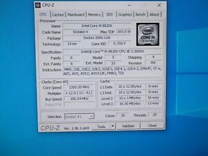 Intel Core i9-9820X 3.3GHz 10-Core X299 LGA2066 X-series Processor CPU