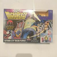 Gotham city micro playset Microverse the adventures of batman & Robin NEW Kenner