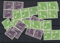 GERMANY ALLIED OCCUPATION SINGLES AND BLOCKS NEVR MOUNTED MINT  .REF 347