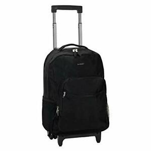 Rockland Luggage 17 Inch Rolling Backpack