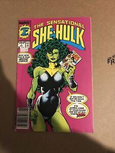 The Sensational She-Hulk #1 Marvvel Comics Key Issue