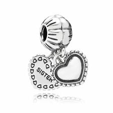 Authentic Pandora Silver My Special Sister Dangle Charm 791383
