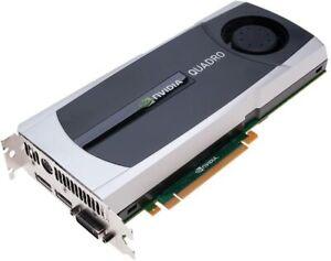 HP Quadro 6000 6GB Single Fan GDDR5 612953-002 Video Graphics Card GPU