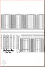 Reality In Scale 1:35 54mm Wooden Fence 20cm - Diorama Accessory #GL090