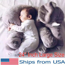 Elephant Baby Stuffed Doll Plush Big Toy Children Kids Soft Long Nose Cute